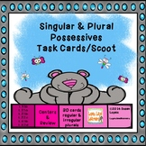 Singular and Plural Possessive Task Cards / SCOOT