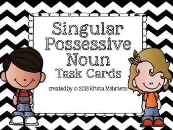 Singular Possessive Noun Task Cards