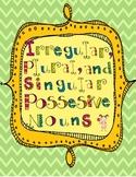 Singular Possessive, Plural, and Irregular Plural Noun Les