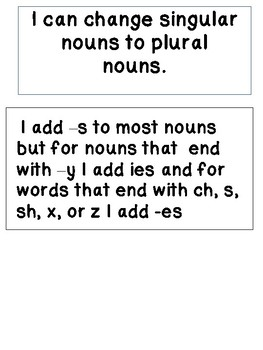 Singular and Plural Activity Pack