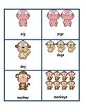 Singular and Plural Animal Sort