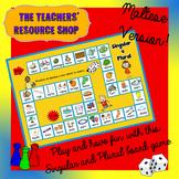 Singular and Plural Board Game Maltese Version