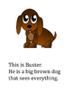 Buster the Dog Book Activity: Singular and Plural NouNs