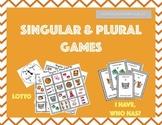 Singular and Plural Games