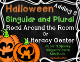 Halloween Singular and Plural Read Around the Room or Lite