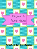 Singular and Plural Noun Activities - Center Games, Worksheets