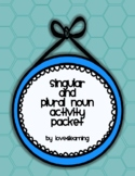 [UPDATED] Singular and Plural Noun Activity Pack