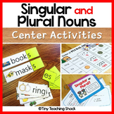 Singular and Plural Noun Center Activities