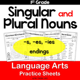 Singular and Plural Nouns Practice Pages