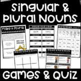 Singular and Plural Noun Games and Quiz