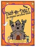 Singular and Plural Noun Halloween Trick-or-Treat Game