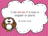 Singular and Plural Noun Pack: PPT and Picture Sort