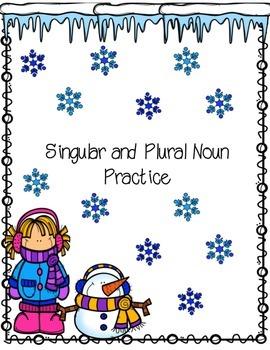 Singular and Plural Noun Packet