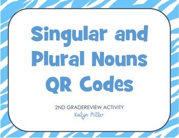Singular and Plural Noun QR Codes
