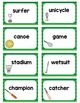 Singular and Plural Noun Sort Sport Words
