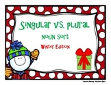 Singular and Plural Noun Sort {WINTER EDITION-CVC}