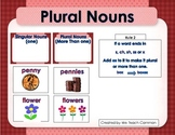 Singular and Plural Noun Sort With s or es Ending Literacy Center Activity