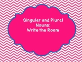 Singular and Plural Noun Write The Room