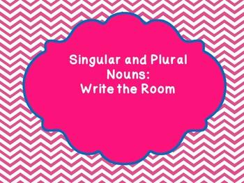 Singular and Plural Noun Write The Room