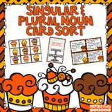 Singular and Plural Nouns Task Cards and Writing Center