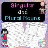 No-Prep Singular and Plural Nouns