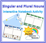 Interactive Singular and Plural Nouns Activity for IWB