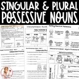 Singular and Plural Possessive Nouns Activities and Intera