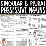 Singular and Plural Possessive Nouns Activities and Intera