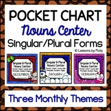 Singular and Plural Nouns Center Bundle One