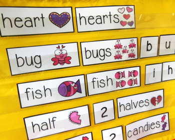 Singular and Plural Nouns Center {February}