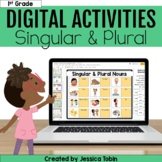 Singular and Plural Nouns Digital Language Activities- L.1