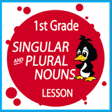 Singular and Plural Nouns Activities + FREE Singular and Plural Nouns Worksheet