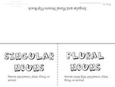 Singular and Plural Nouns Flip Book