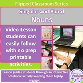 Singular and Plural Nouns:  Flipped Classroom Series