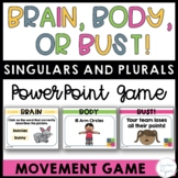 Singular and Plural Nouns Game Interactive PowerPoint