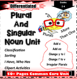 Singular and Plural Nouns Gr. 2-4