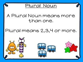 Singular and Plural Nouns (Halloween)