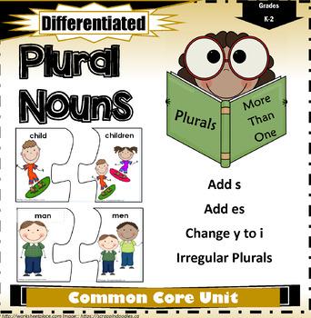 Singular and Plural Nouns K-2