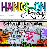 Singular and Plural Nouns L.1.1.c {Hands-on Reading}