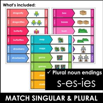 Singular and Plural Nouns Matching Activity