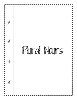 Singular and Plural Nouns Notebook Sort