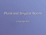 Singular and Plural Nouns PPT