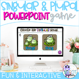 Singular and Plural Nouns PowerPoint Game