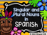 Singular and Plural Nouns {Spanish}