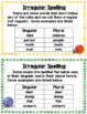 Singular and Plural Nouns Anchor Charts and Task Cards