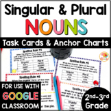 Singular and Plural Nouns Task Cards and Anchor Charts