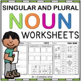 Singular and Plural Nouns Worksheets: Plural Nouns Sort