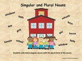 Singular and Plural Nouns (including irregular plural nouns)