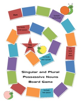 Singular and Plural Possessive Game