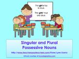 Singular and Plural Possessive Noun PowerPoint